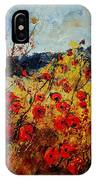 Red Poppies In Provence  IPhone Case