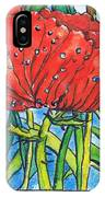 Red Poppy 1 IPhone Case