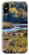Red River Bend IPhone Case
