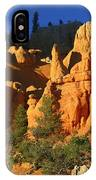 Red Rock Canoyon At Sunset IPhone Case
