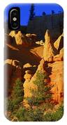 Red Rock Canoyon Moonrise IPhone Case