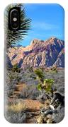 Red Rock Canyon Joshua Tree 2 IPhone Case