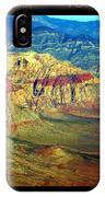 Red Rock Canyon Poster Print IPhone Case