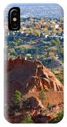 Red Rock Canyon Rock Quarry And Colorado Springs IPhone Case