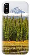 Red Rock Lake Pyramids IPhone Case