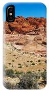 Red Rock Mountain IPhone Case