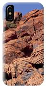 Red Rock Texture IPhone Case