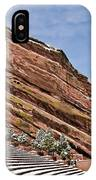 Red Rocks Amphitheater IPhone Case