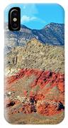 Red Rocks Nevada IPhone Case