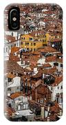 Red Roofs Of Venice IPhone Case