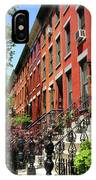 Red Row Houses IPhone Case
