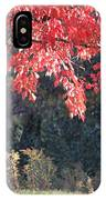 Red Shade Tree IPhone Case