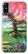 Red Sky Garden IPhone Case