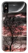 Red Sky Moon IPhone Case
