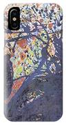 red snow, 19 March 2015 IPhone Case