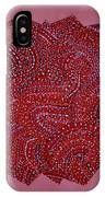Red Spiral IPhone Case