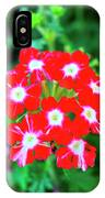 Red Star Flower IPhone Case