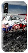 Red Star Viper United States Side IPhone Case