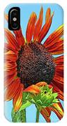 Red Sunflowers-adult And Child IPhone Case