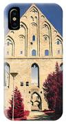 Red Surreal Abbey Ruins IPhone Case