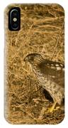 Red Tail Hawk Walking IPhone Case