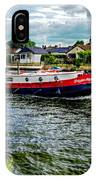 Red Tug Boat IPhone Case