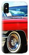 Red Vintage Cadillac IPhone Case