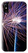Red White And Boom IPhone Case
