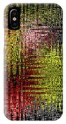 Red Yellow White Black Abstract IPhone Case