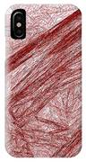 Red.289 IPhone Case