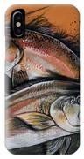 Redfish Frenzy IPhone X Case