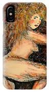 Redhead Dancer IPhone Case