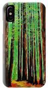 Redwoods Majestic 2 IPhone Case