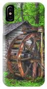 Reed Springs Grist Mill IPhone Case