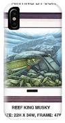 Reef King Musky IPhone Case