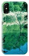 Reflected Branches IPhone Case