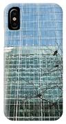 Reflected Buildings IPhone Case