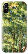 Reflecting Trees On Quiet Pond IPhone Case