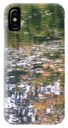 Fall Reflections 4 On Jamaica Pond IPhone Case