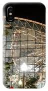 Reflection Of Navy Pier Ferris Wheel IPhone Case