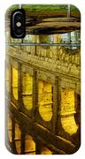 Reflection Of The Colosseum IPhone Case