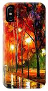 Reflection Of The Night  IPhone Case