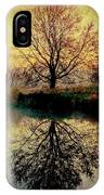 Reflection On Golden Pond IPhone Case