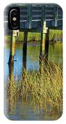Reflections And Sea Grass IPhone Case