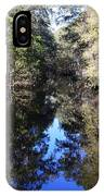 Reflections At Camps Creek  IPhone Case