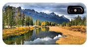 Reflections In Canmore IPhone Case
