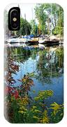 Reflections In The Pool IPhone Case