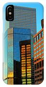 Reflections Of Denver IPhone Case