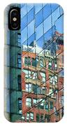 Reflections Of Manhattan IPhone Case