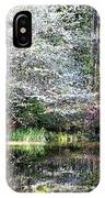 Reflections Of Spring IPhone Case